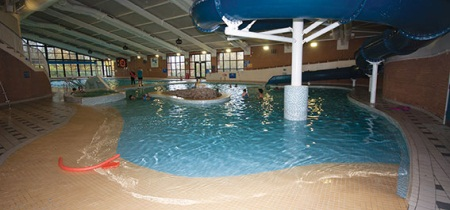 Leisure pool and slide