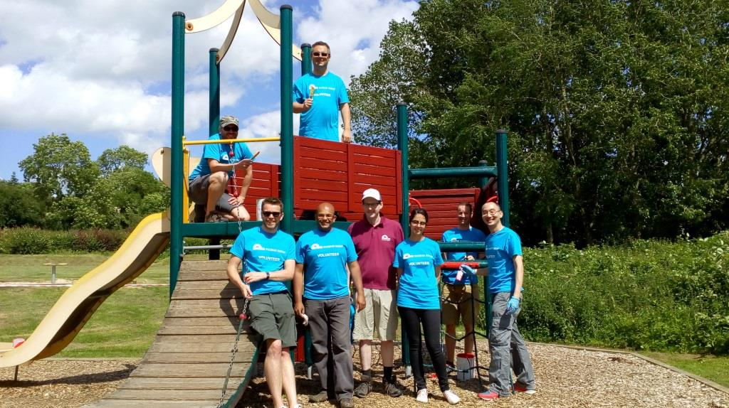 Volunteers from the The Phoenix Group