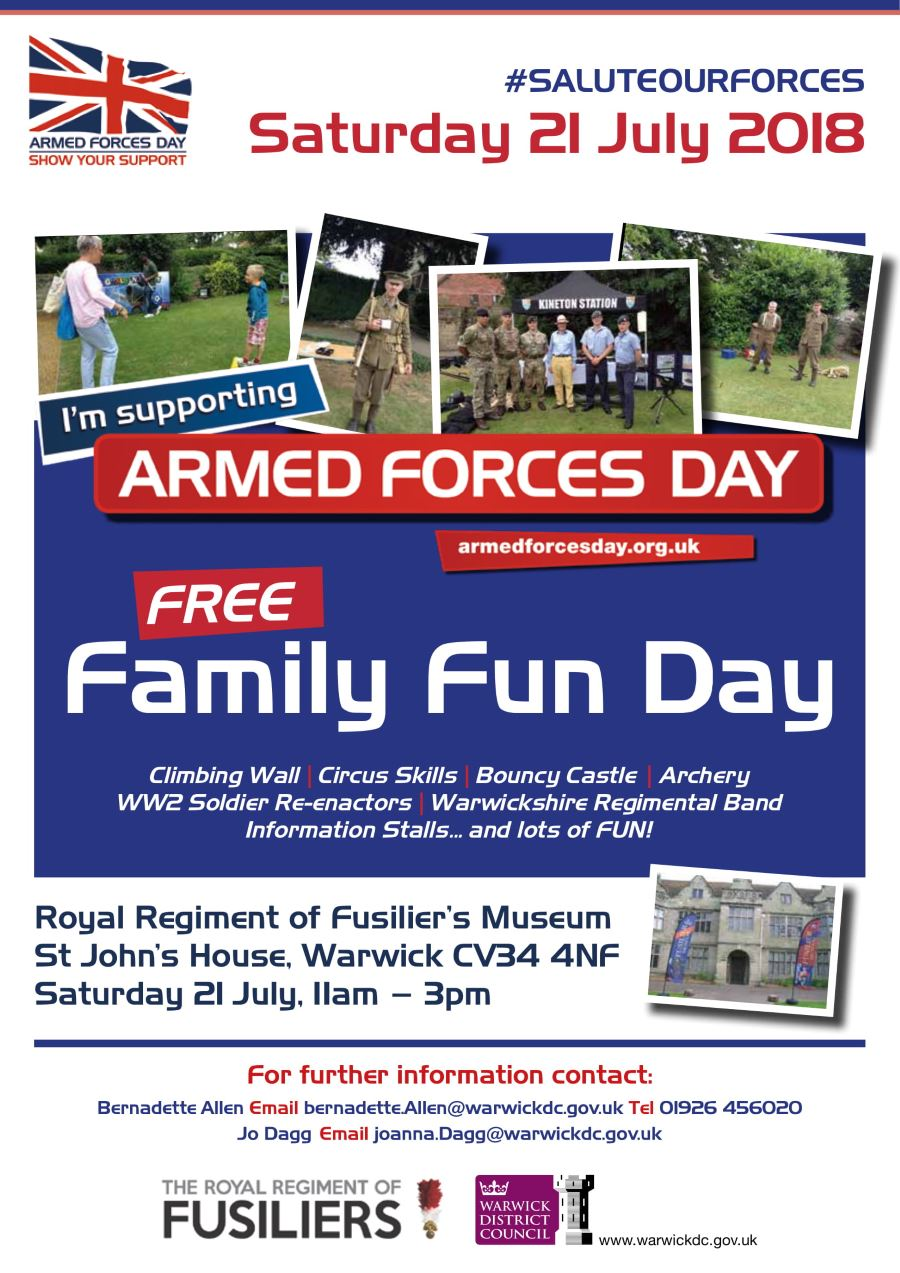 Armed forces day 2018 poster