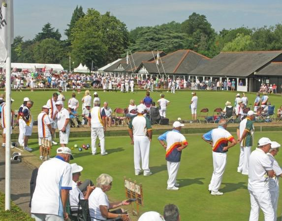 In play bowls tournament at Victoria park