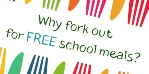 Why fork out for free school meals?
