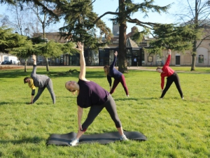 yoga in pump rooms