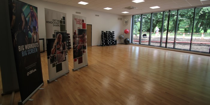 Newbold Comyn Leisure Centre - new interior