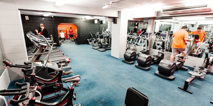 St Nicholas Park Leisure Centre gym