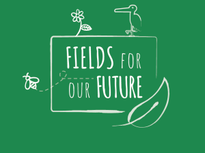 Fields for our future logo