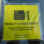 Parking Charge Notice