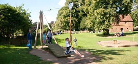 Play area in Abbey Fields
