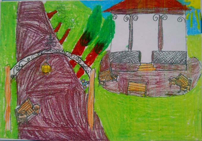 Postcards from home winner -  primary schools