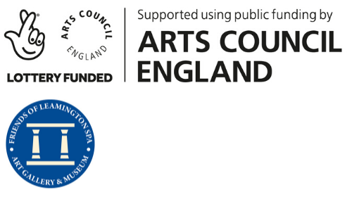 Lottery funded, friends of Leamington Spa and Supported using public funding by Arts Council England
