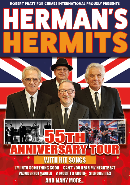 Herman's Hermits - coming to Royal Leamington Spa