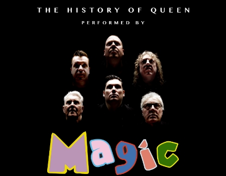 the history of queen performed by magic
