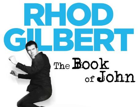 Rhod Gilbert: The Book of John, comedian, nonsense.
