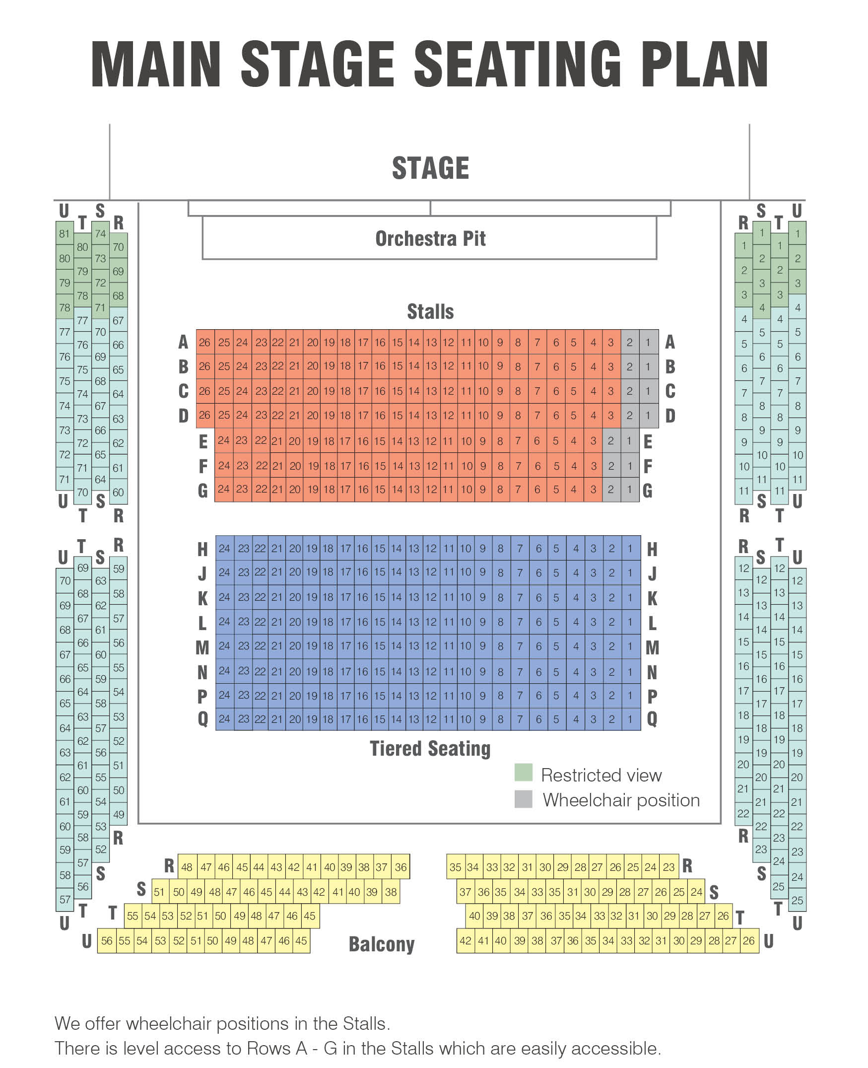 Seating Plans Royal Spa Centre